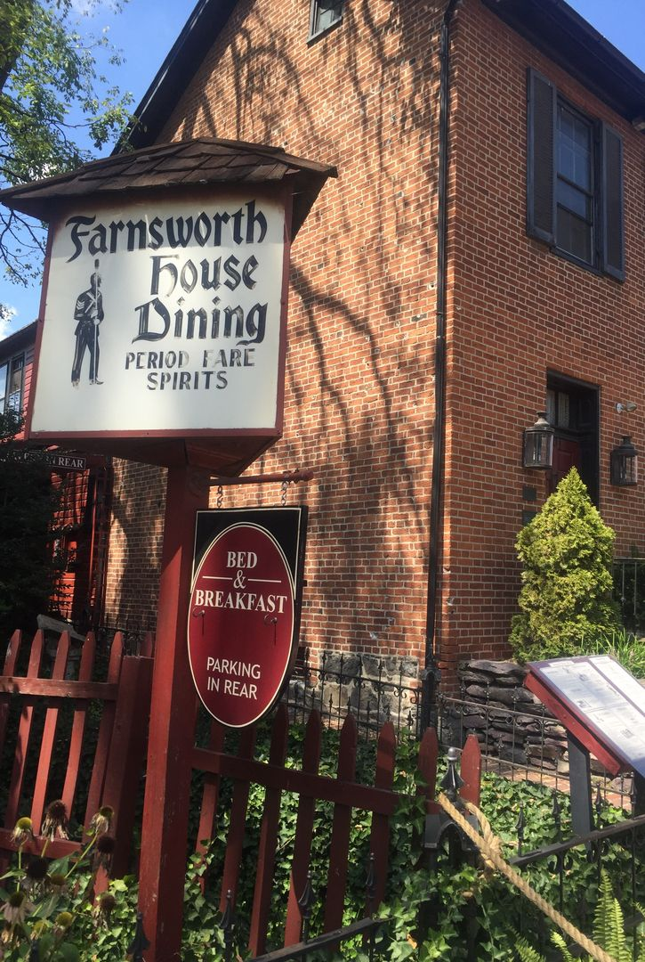 The Farnsworth House Bed and Breakfast Bed Breakfast
