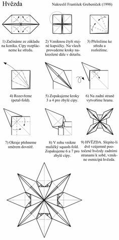 architectural origami instructions google search origami stars rh pinterest com christmas origami diagram Holiday Origami