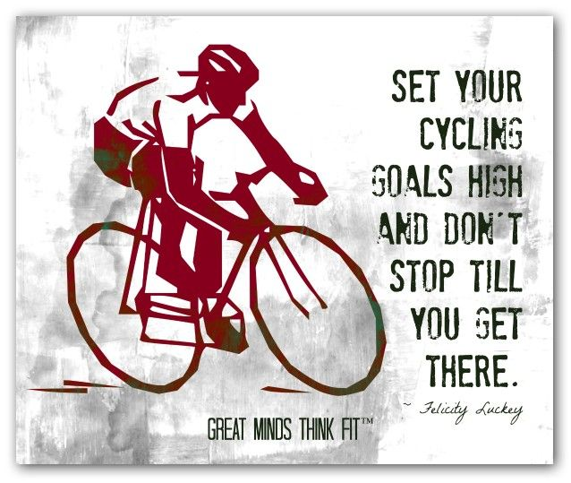 Cycling Poster Gallery For Motivation With Images Cycling