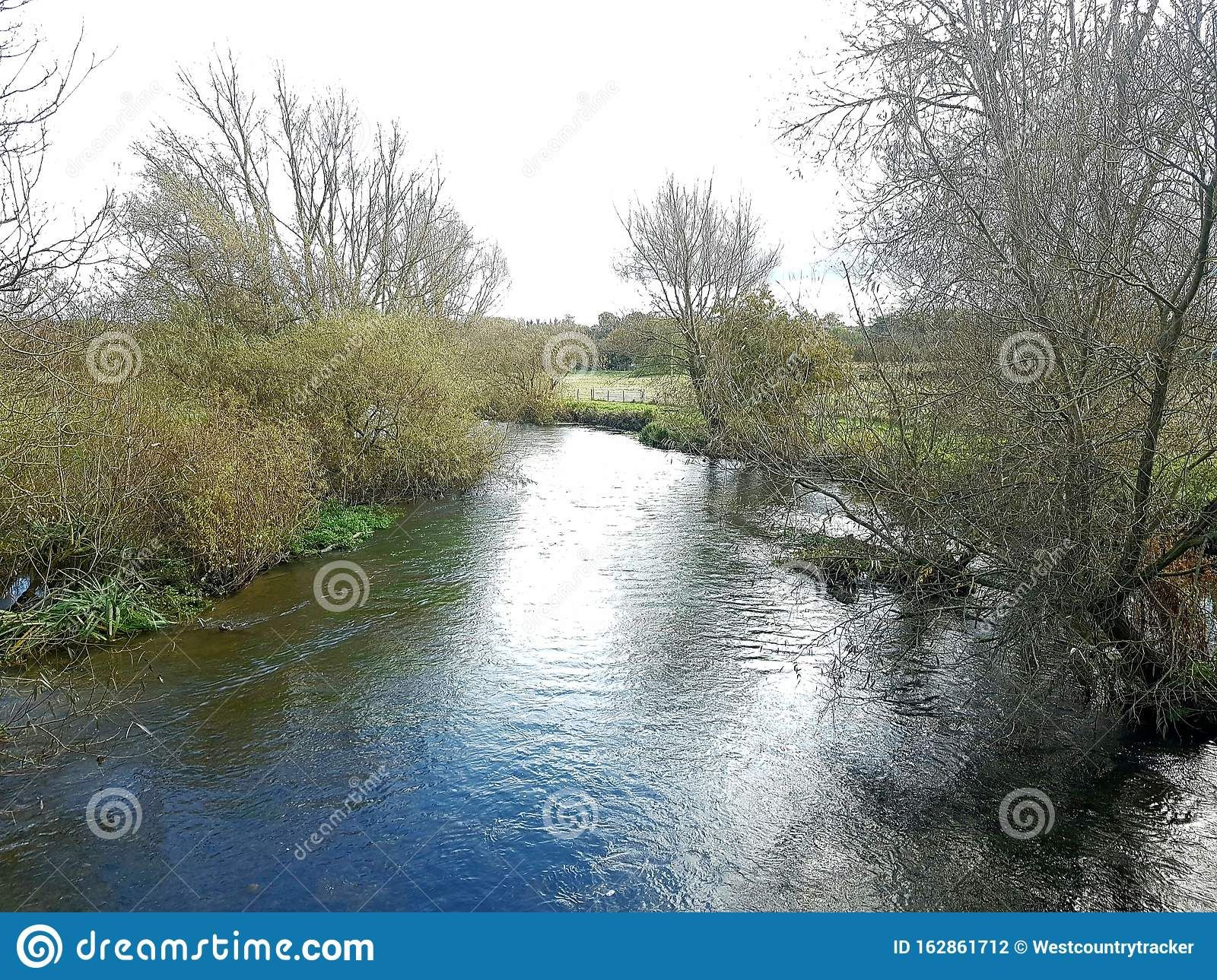 Autumn Scenery Of The River Avon , Amesbury, Wiltshire, Uk Stock Photo - Image of riverwalks, naturewatching: 162861712 #autumnscenery