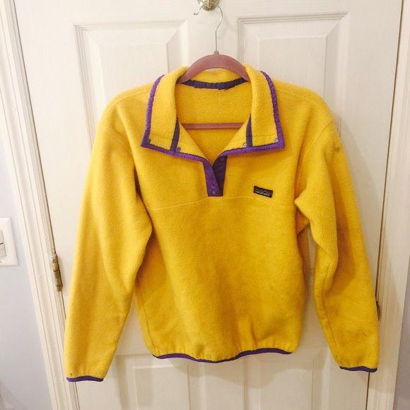 Vintage Patagonia Fleece Pullover | Patagonia fleece pullover ...