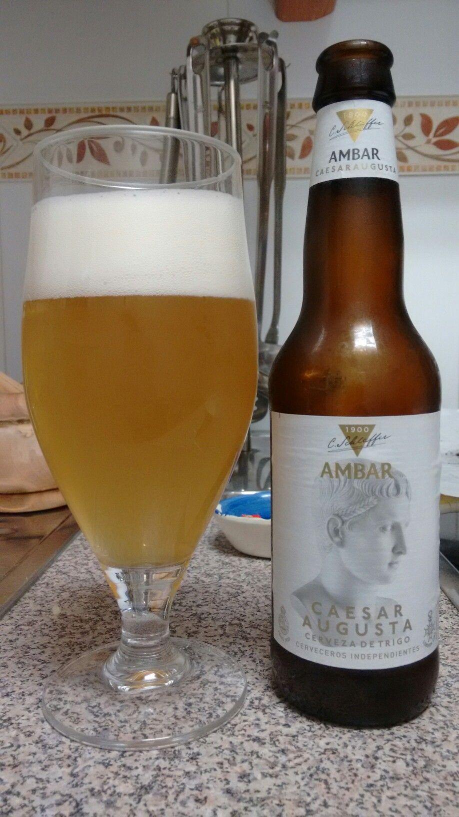 Ambar Caesaraugusta Cerveza De Trigo Https Ambar Com Cervezas