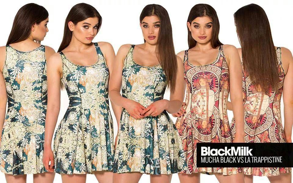 Black milk mucha dresses
