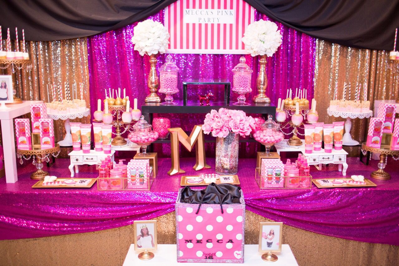 Victoria Secret Pink Party Decorations from i.pinimg.com