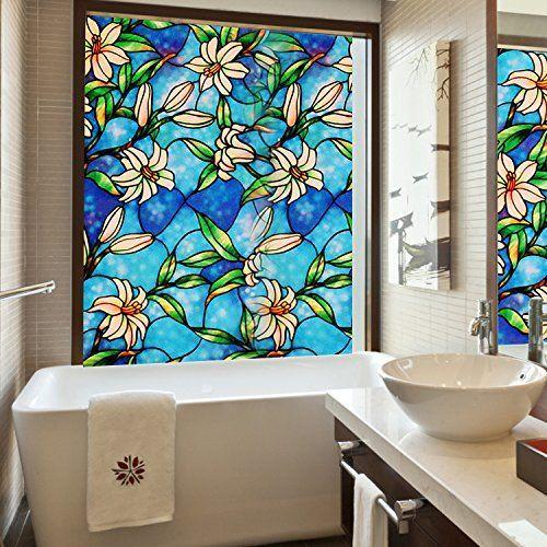 Fancy Aingoo Window Film Fensterfolie Fensterbilder Sichtschutzfolie Glasfenster Film Style
