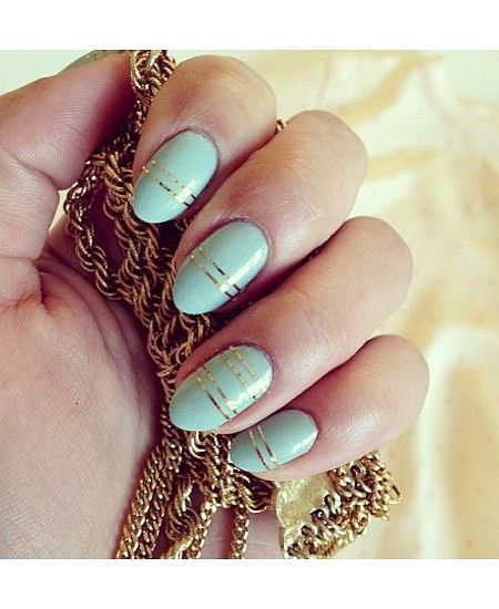 Cute Almond Nails on Pinterest | Almond Nails 2014, Almond ...