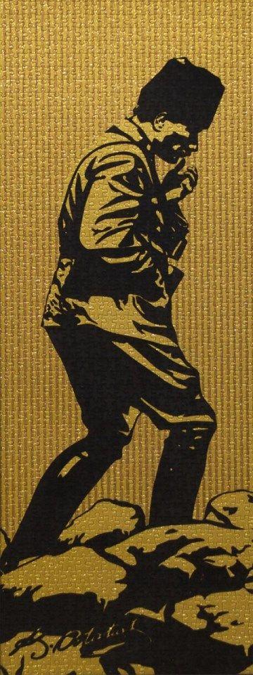 Art Puzzle Ataturk Kocatepe De 1000 Parca Kadife Flokati Simli Yuzey Airbrush Sanat Lirik Sanat Ve Mozaic Sanati