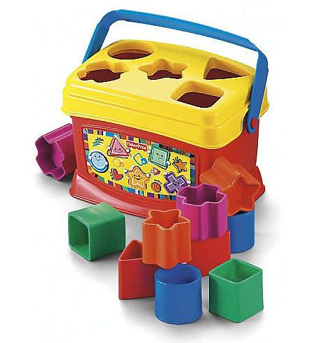 Basics Babys First Blocks $5.97 en Walmart