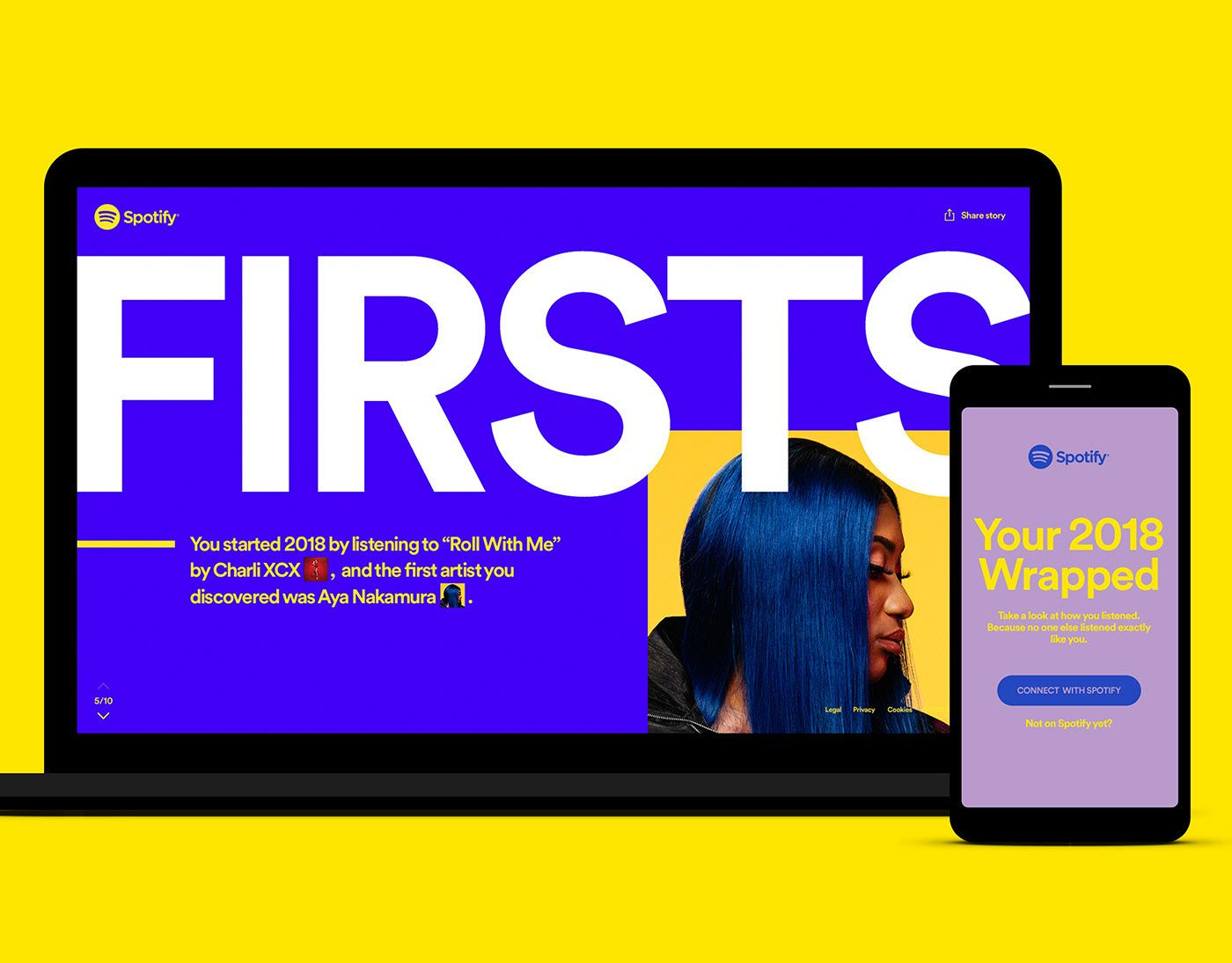 """Check out this Behance project """"Spotify 2018 Wrapped"""