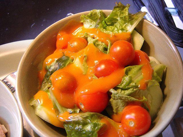 How to make texas roadhouse french dressing food lover recipes pinterest salad dressing for Olive garden salad dressing recipe secret