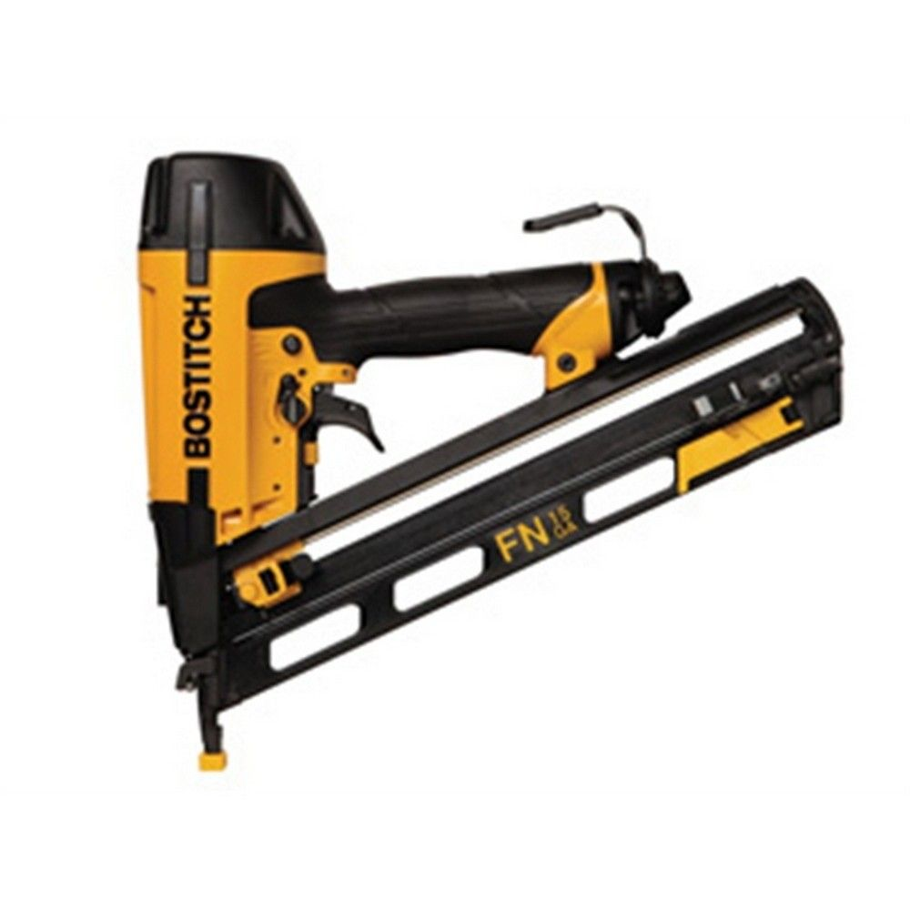 Bostitch N62fnb E Second Fix Angled Finish Nailer 15 Gauge Gereedschap