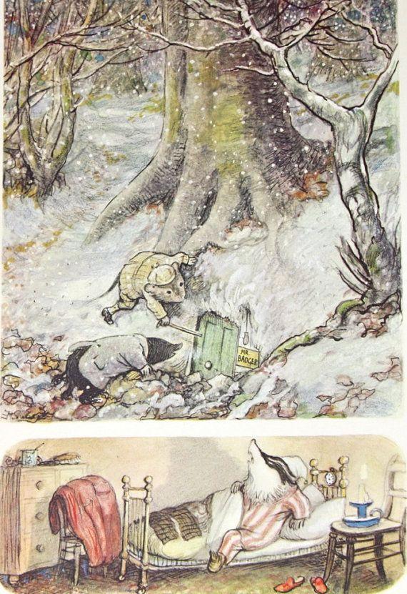 Vintage Book Print Art Print 1959 Childrens Book Page Etsy Illustration Art Illustration Art