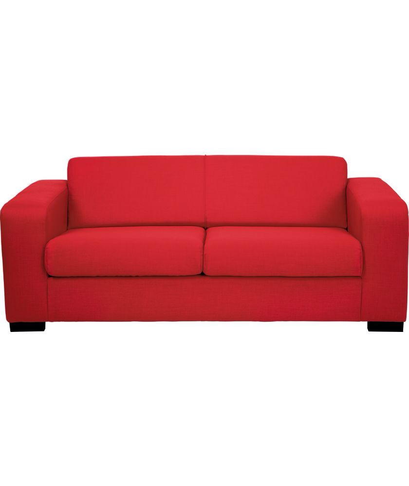 Ava From Argos Sofa Bed Red Fabric
