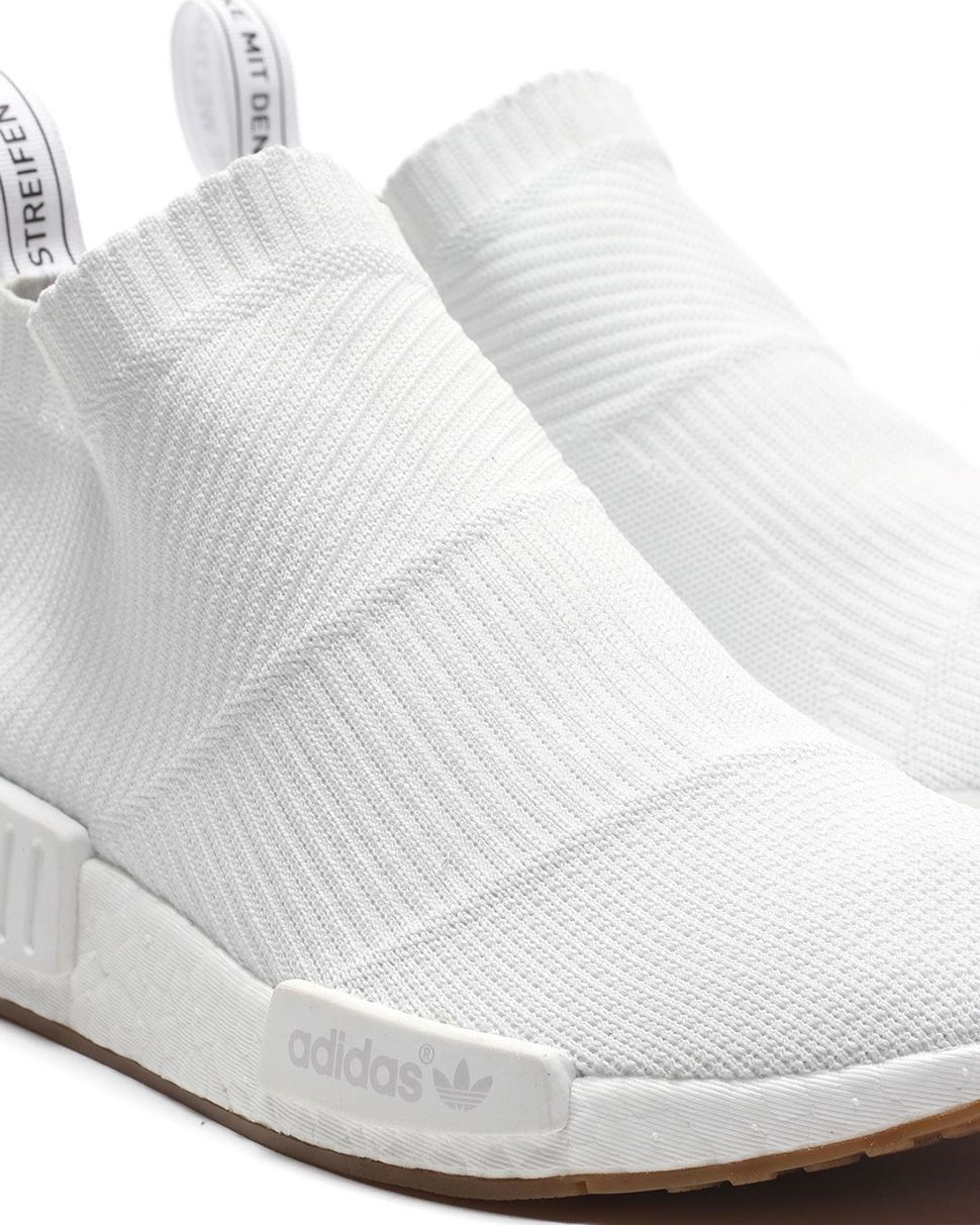 brand new 6680e 5354c adidas NMD CS1 PK Footwear White 2 Release Date  adidas Originals NMD City  Sock 1 Gum Pack eukicks