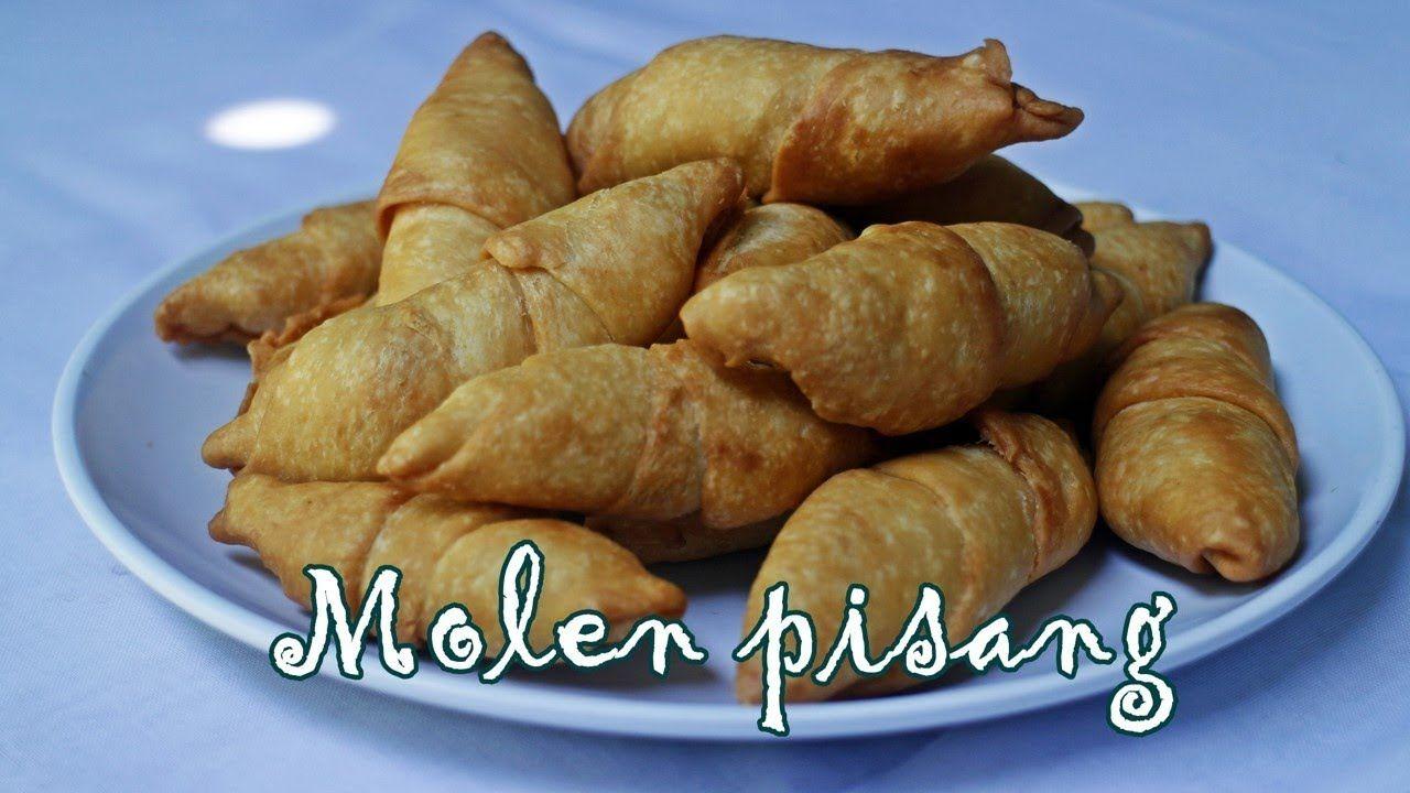 Resep Molen Pisang Sederhana Enak Sekali Food Sweet Potato Sweet
