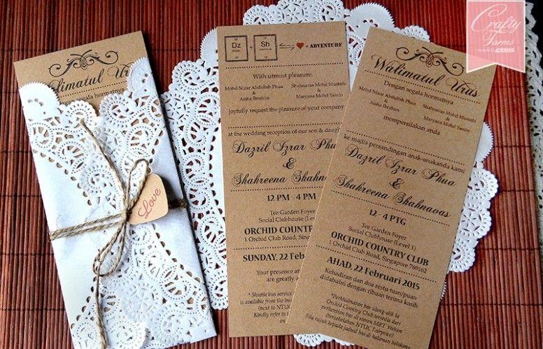 Template Kad Tunang Why Template Kad Tunang Had Been So Popular Till Now Wedding Invitation Cards Rustic Wedding Cards Wedding Cards