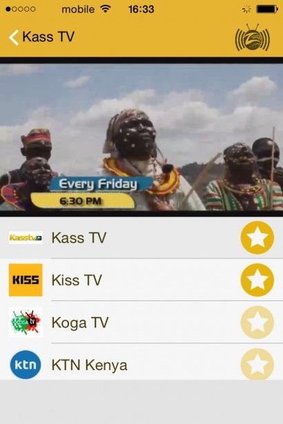 Zalunu is the Nr  1 TV and Radio App to watch Africa live tv