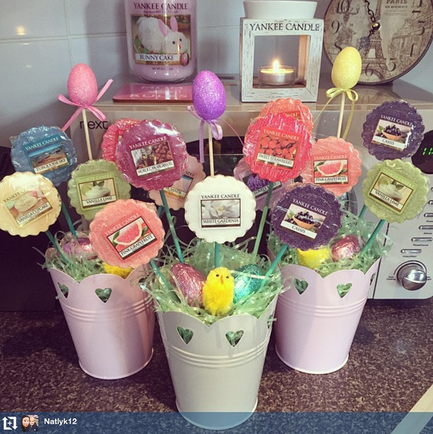 How will you be gifting for easter for our instagram fan follow tart baskets for easter gifts these cute be cute for christmas too negle Choice Image
