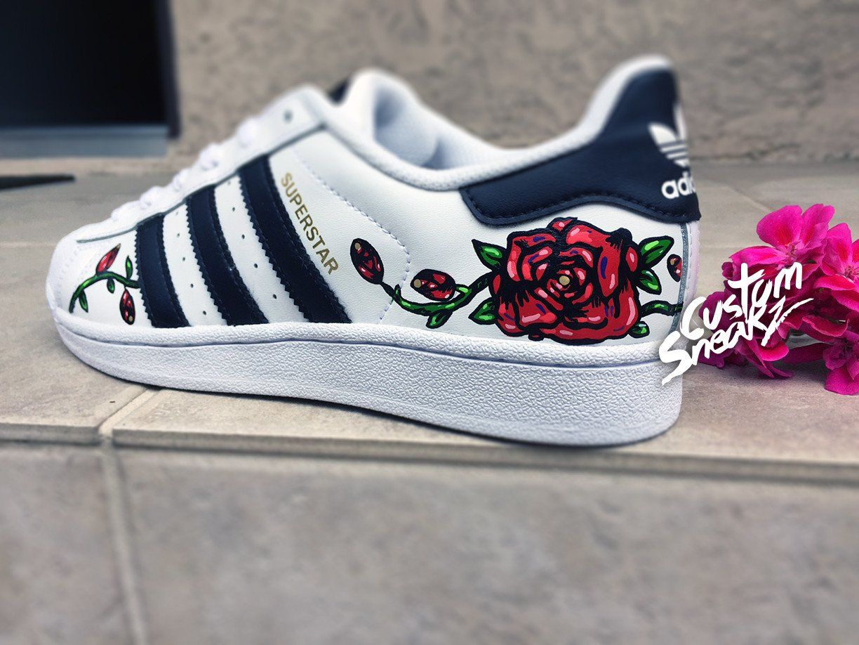 best sneakers 2b436 ed52f Custom Adidas Superstar for men and women, Adidas custom Hand Painted –  CustomSneakZ