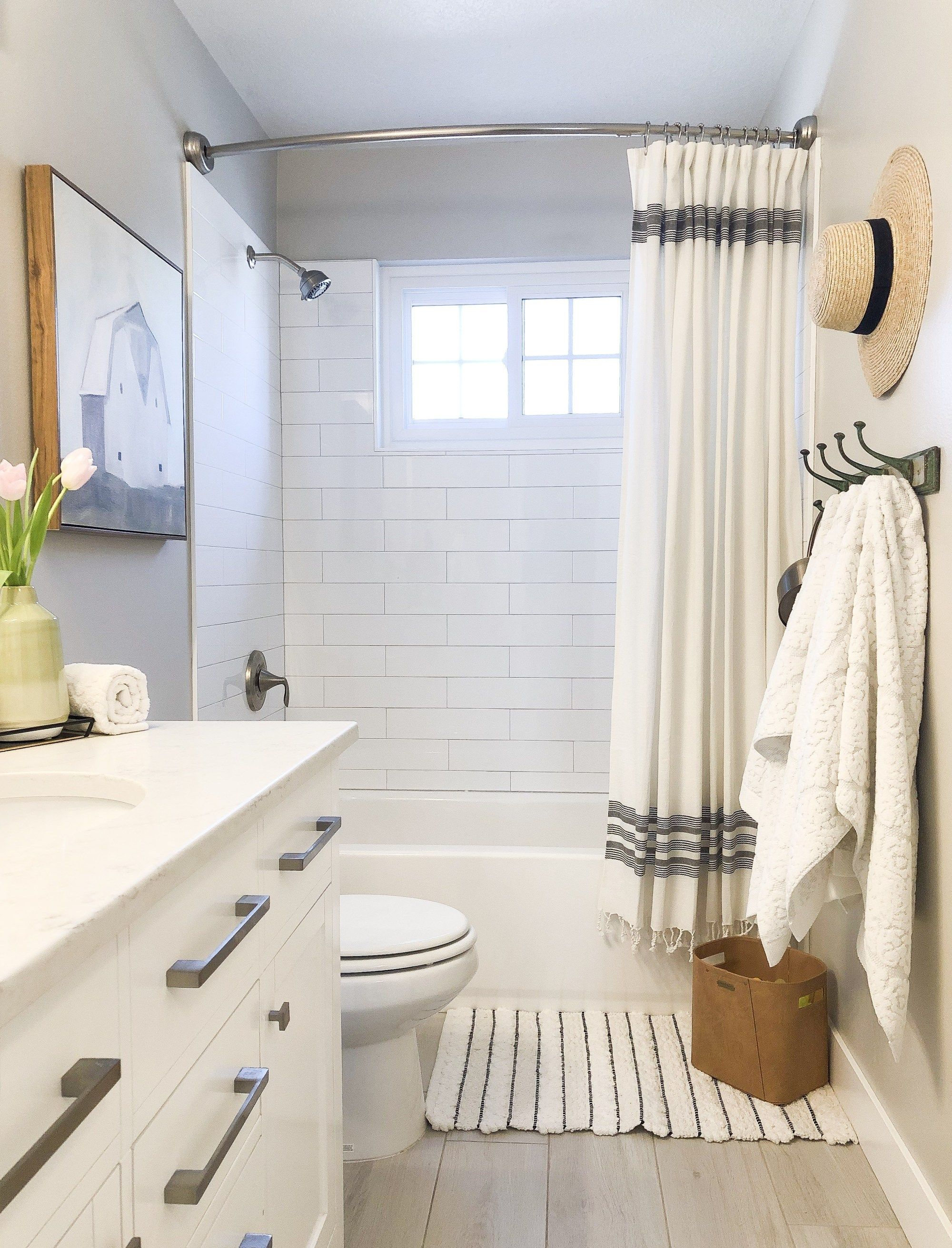 Bathroom refresh for $7. Everything is from Target!  Simple