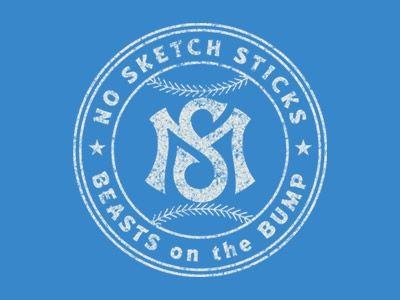Designspiration — Dribbble - Santa Monica Mavericks by Alex Rinker