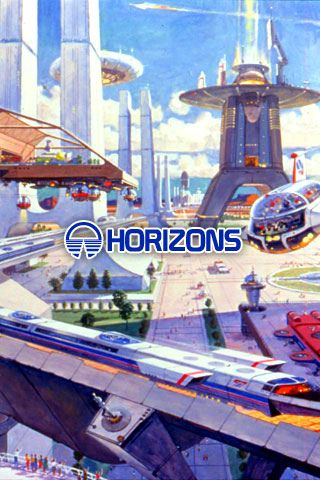 Epcot Horizons Concept Art Pre Wallpaper All Things Disney 3