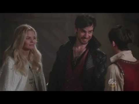 5x04 Emma & Hook. Killian's face was hilarious!!!!!!