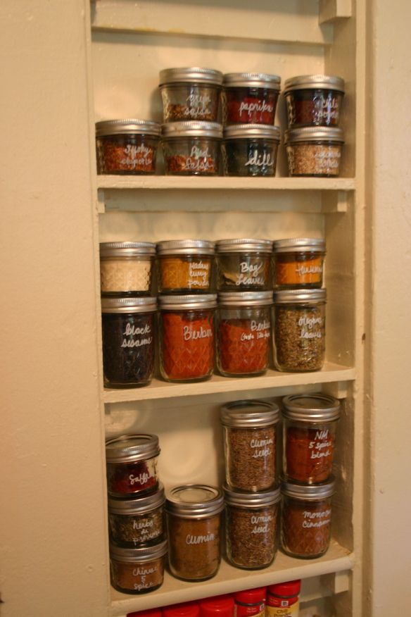 Pantry Idea Canning Jars To Organize Spices Popular