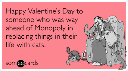 Funny Valentines Day Ecard Happy Valentines Day to someone who – Happy Valentines E Card