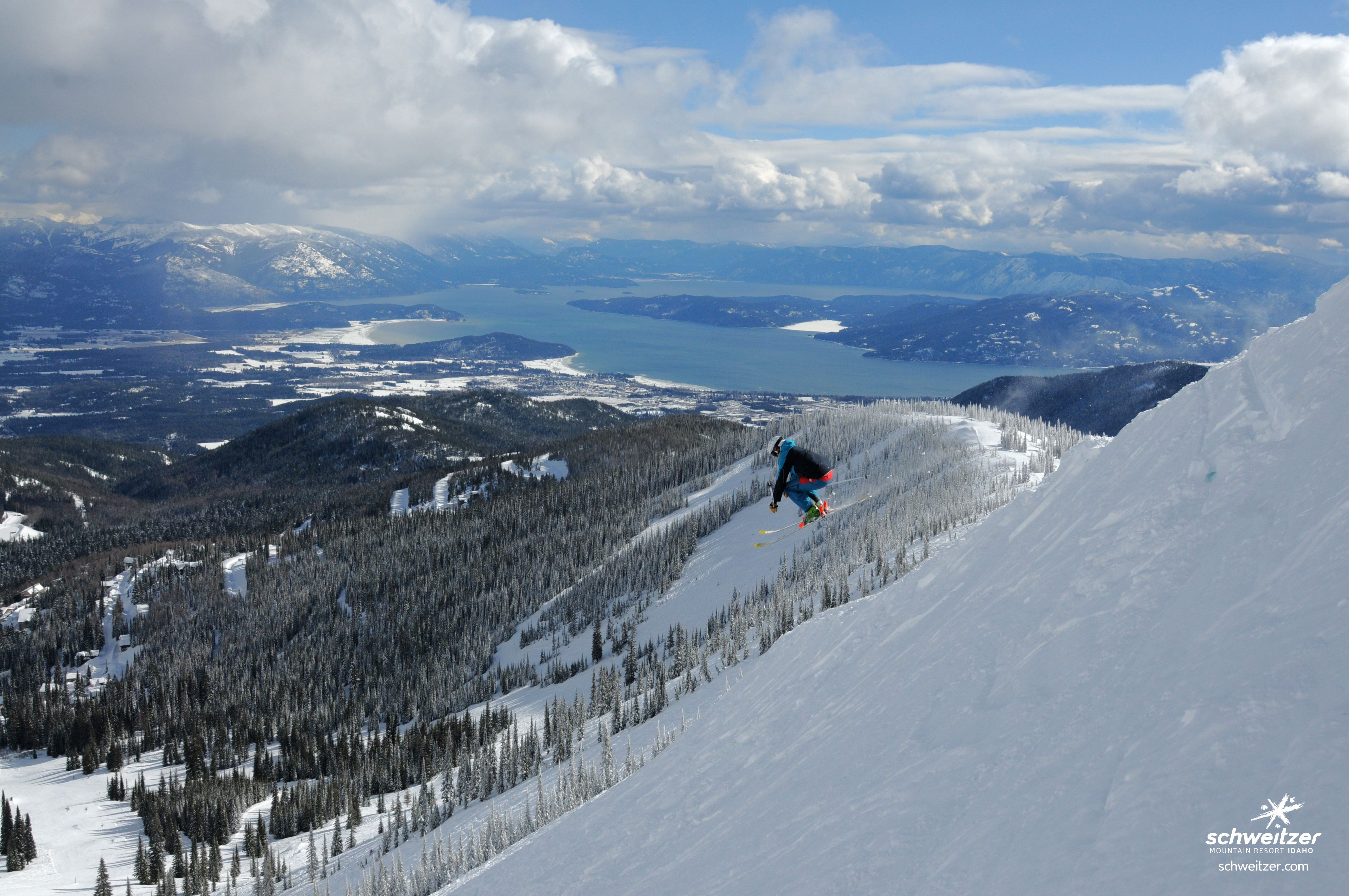 a perfect day | schweitzer mountain resort | skiing & snowboarding