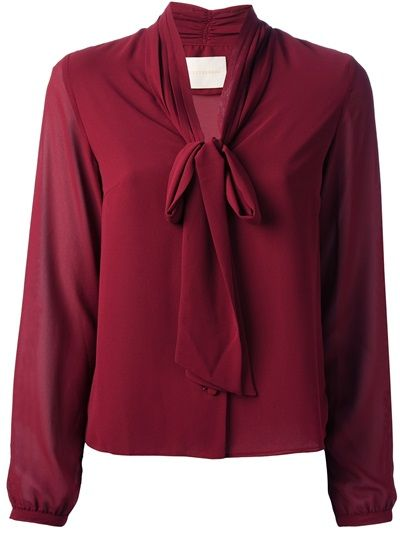 ZETTERBERG - v-neck long sleeve blouse 6