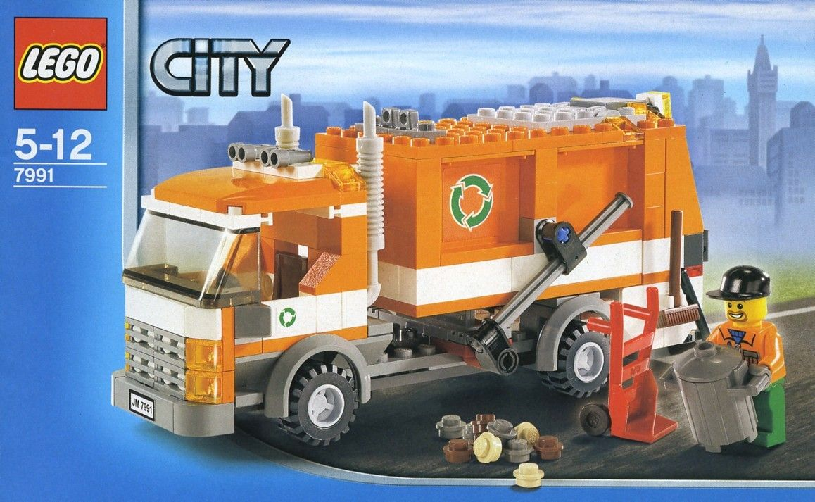 7991 1 Recycle Truck Lego