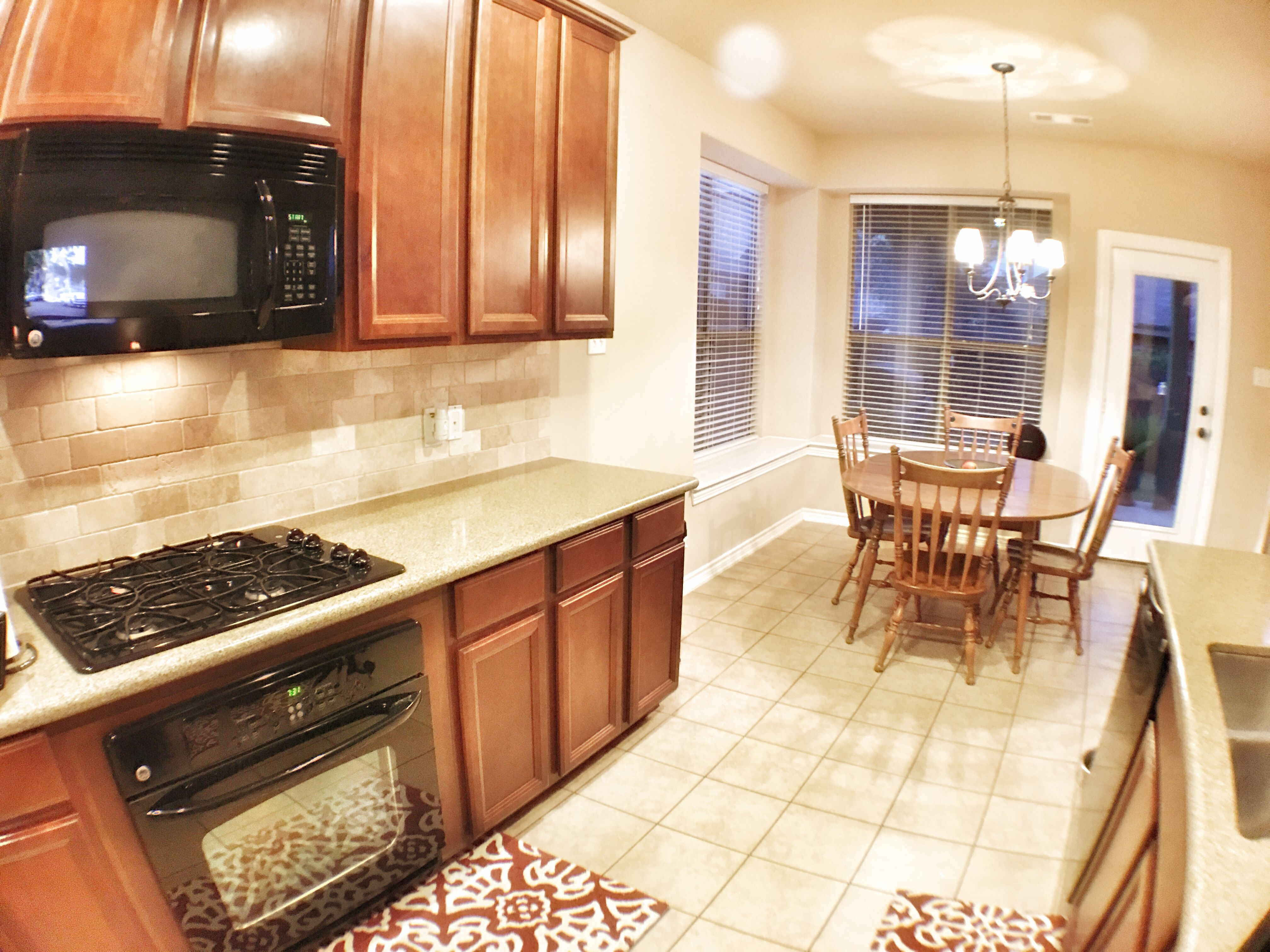 Kitchen in Fort Worth Home for sale with dining nook ...