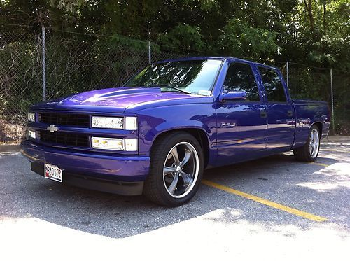 1997 Chevrolet C1500 2wd Crew Cab Custom Centurion Conversion Pick Up Awesome Us 14 500 00 Image 1 Chevrolet Crew Cab Centurion