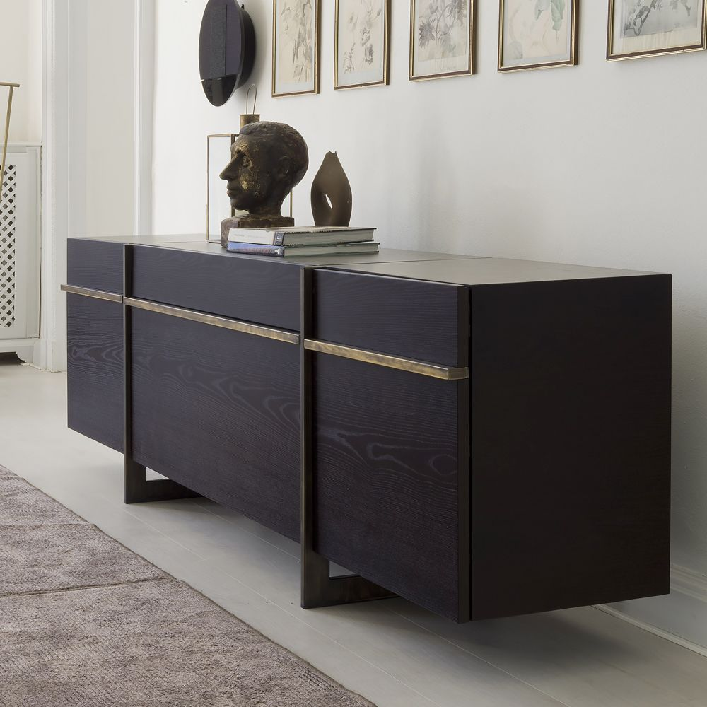 Sideboard Modern Modern High End Luxury Italian Sideboard - Juliettes Interiors | Sideboard Decor, Sideboard Designs, Contemporary Sideboard
