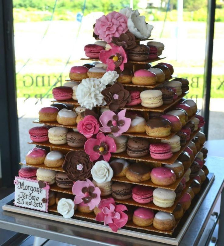 id es originales de dessert de mariage piece montee macarons choux inspirations mariage melle. Black Bedroom Furniture Sets. Home Design Ideas