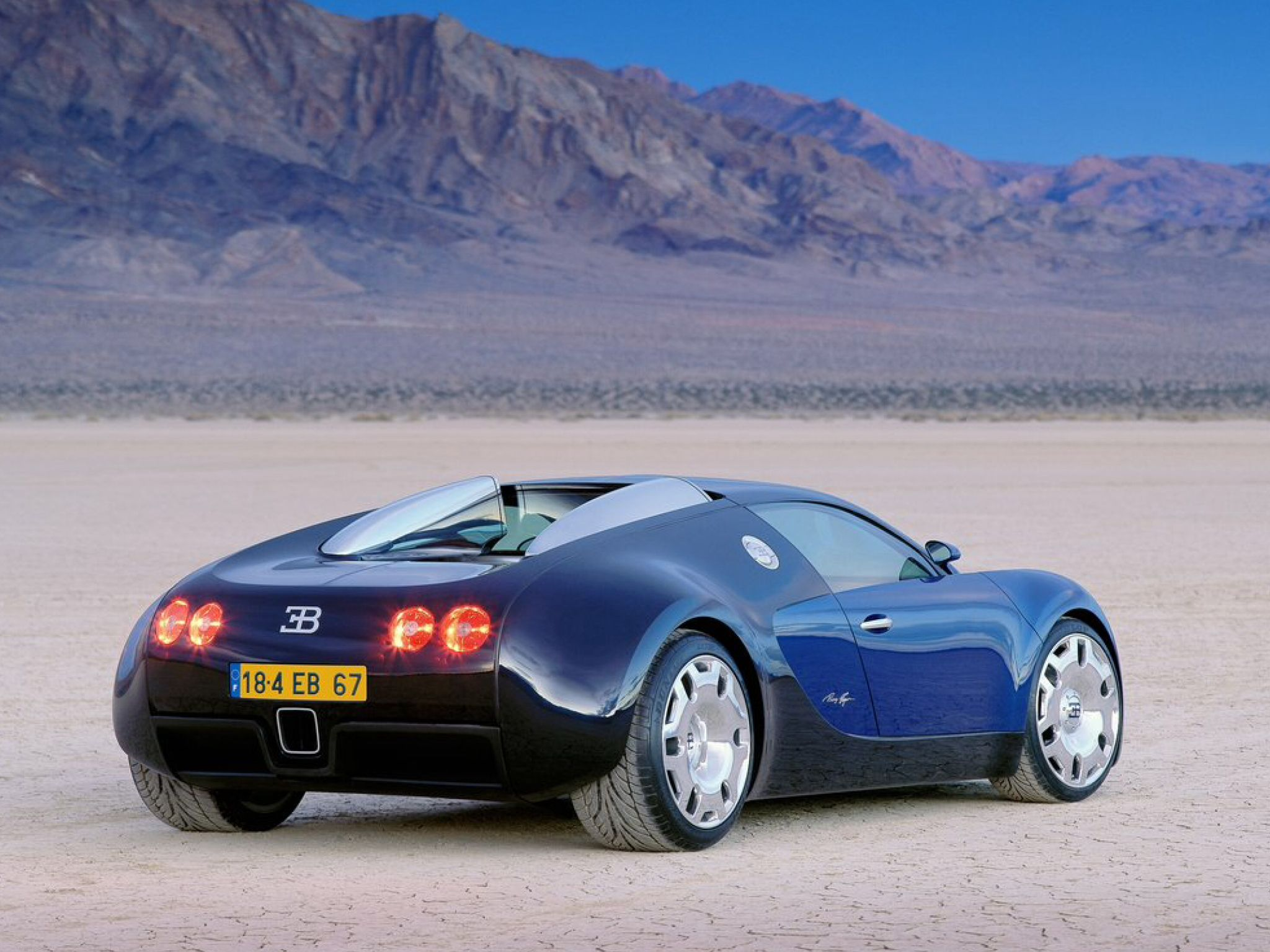 Bugatti Eb 18 4 Veyron Concept