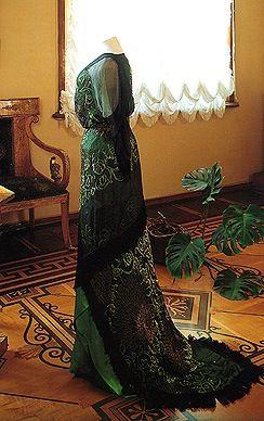 1912 Maria Federovna evening dress | Evening dresses for