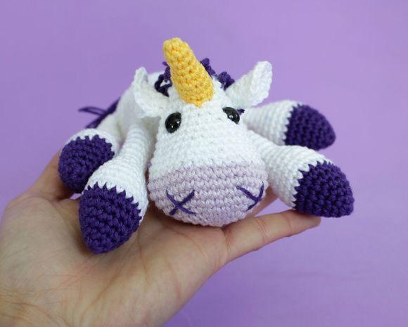 Amigurumi Unicornio Tutorial : Unicornio amigurumies