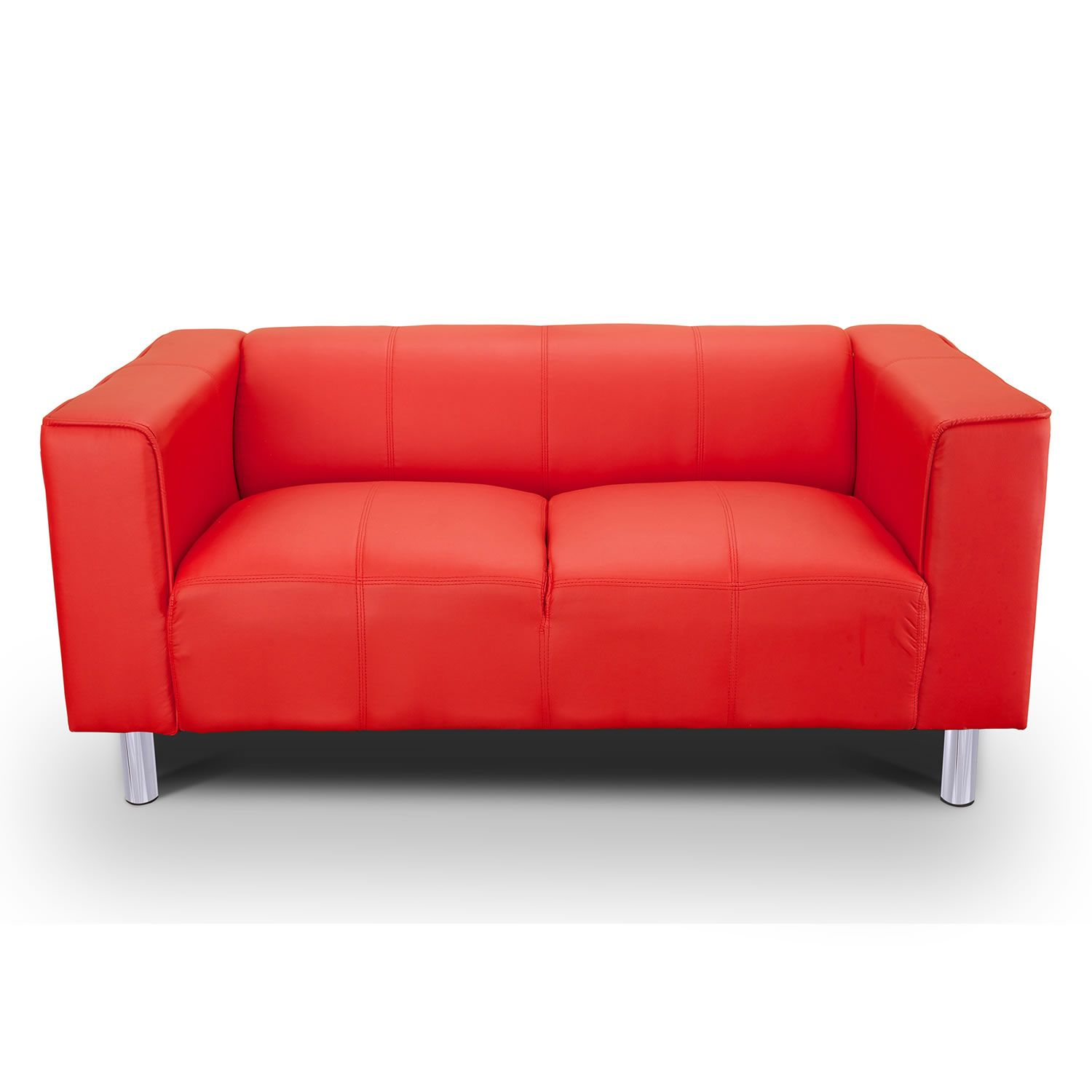 Two Seater Sofa A Space Saving Piece Of Furniture To Add Charm And Functionality Best Leather Sofa Faux Leather Sofa Red Fabric Sofa