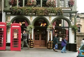 Go to an Irish or Scottish pub