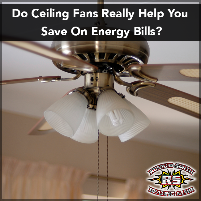 It doesn't seem quite right that running your ceiling fans