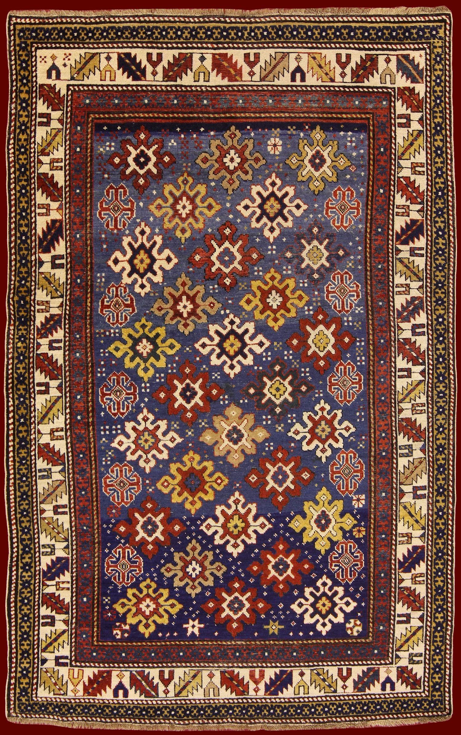 SHIRVAN RUG WITH STARS cm 171 x 110 Tappeti persiani