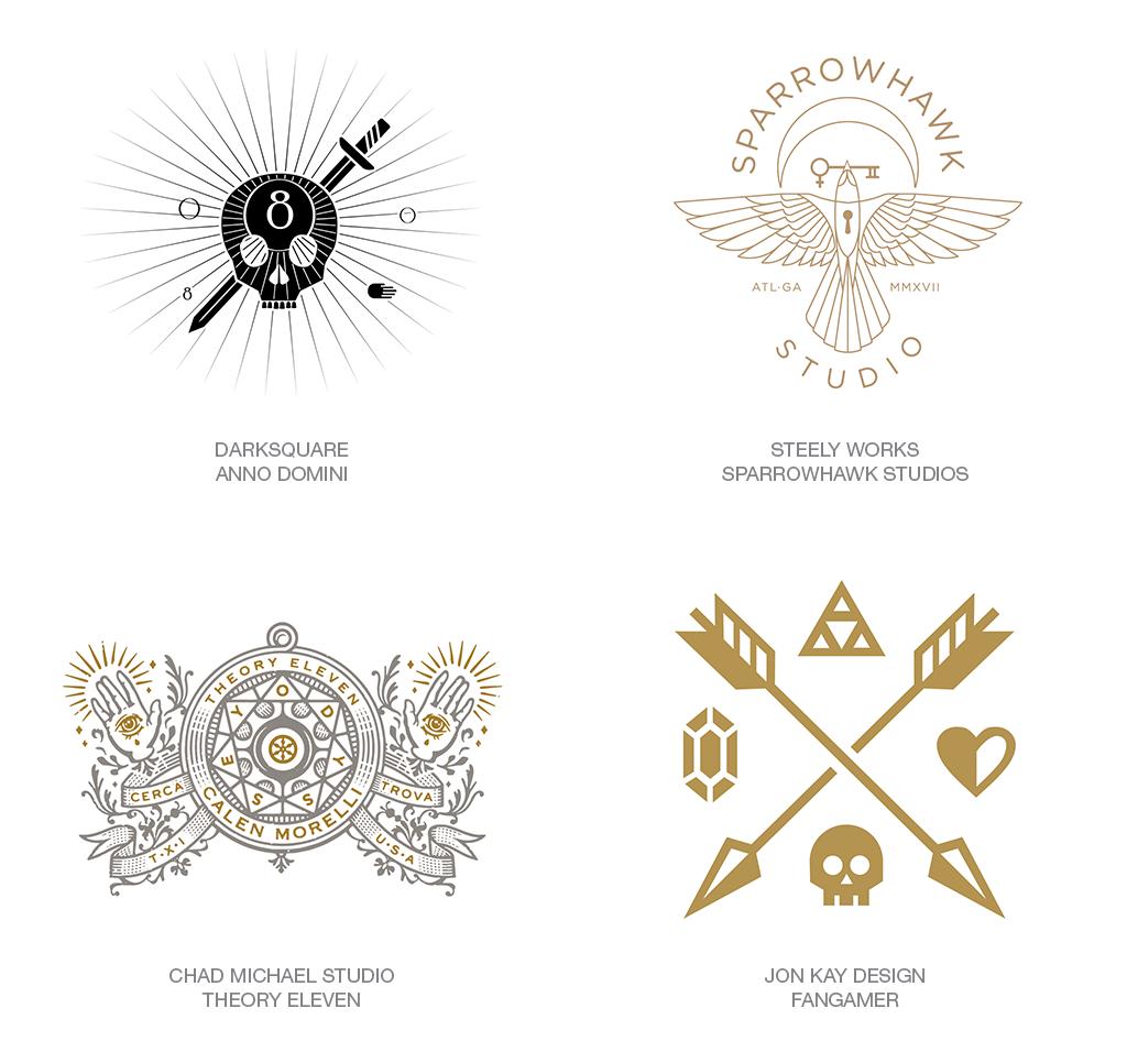 Logo Design Trend 2018: Modern Religion