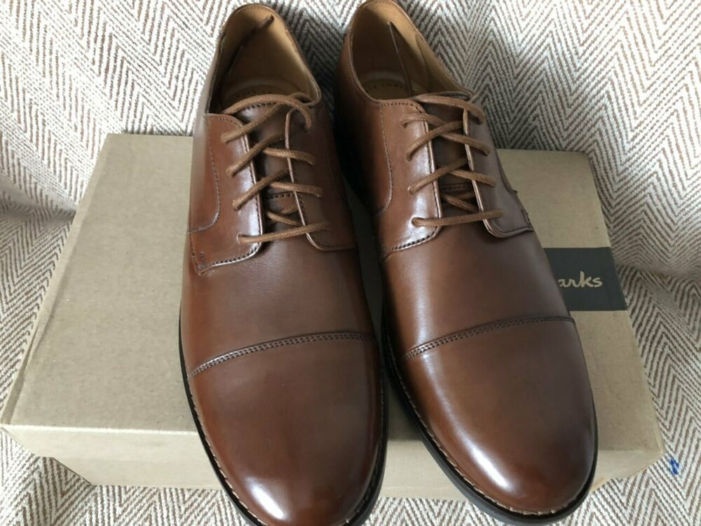 Becken Up ShoesStaff New Cap Mens Leather Flat Clarks Lace rdxBoWCe