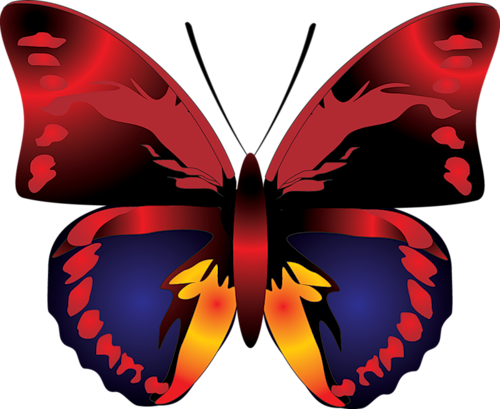 Cartoon Butterfly Clipart | Cartoon Characters | Pinterest ...