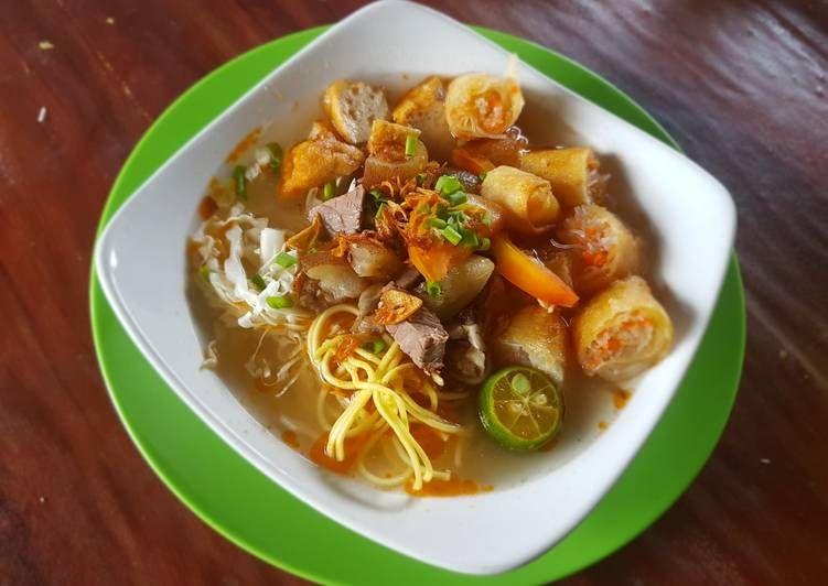 Resep Soto Mie Bogor Oleh Linda Rengganis Resep Rebusan Daging Tumis Rebusan