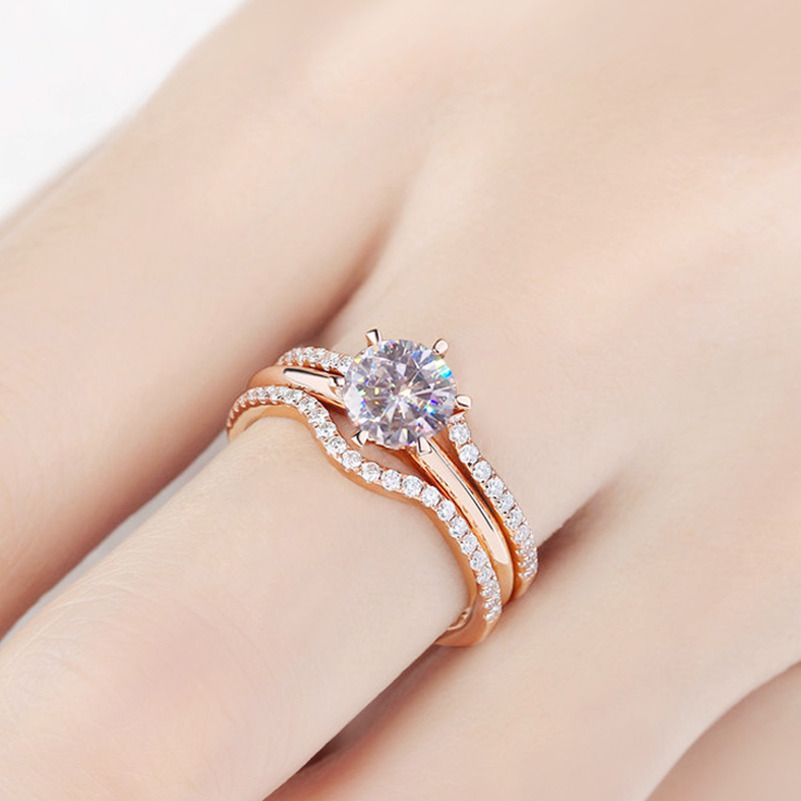 Unique Jewelry Wedding Ring Engagement Ring Vintage Jewelry