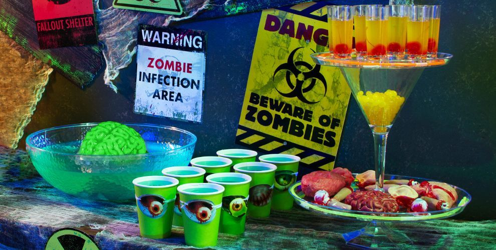 Zombie Decorations Zombie Party Supplies Party City Halloween