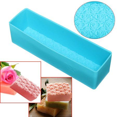 Rectangle Loaf Soap Mould Silicone DIY Cold Processing Tools Cake Baking Toast